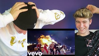 Video BTS (방탄소년단) 'MIC Drop (Steve Aoki Remix)' Official MV [REACTION] download MP3, 3GP, MP4, WEBM, AVI, FLV Mei 2018