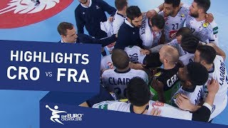 Highlights | Croatia vs France | Men's EHF EURO 2018