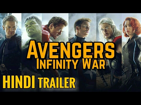 Avengers 3 Infinity War Hindi Fan-Made Trailer / Tribute ...