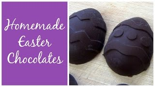 Homemade Peanut Butter Egg + 2 More Easter Chocolates