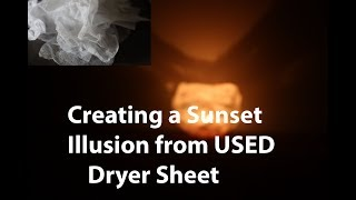 MAKING THE MOST OUT OF USED DRYER SHEETS