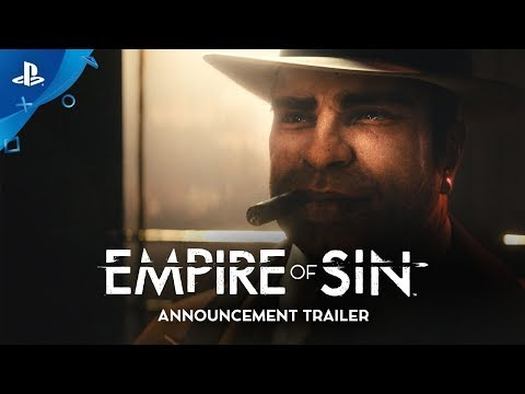 Empire of Sin - Announcement Trailer | PS4