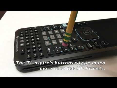 TI-nspire CX CAS vs  HP Prime v2 - Math Class Calculator