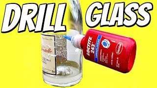 Drill A Hole In Glass - How Hard Can It Be?