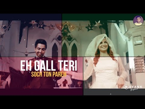 'Soch Hardy Sandhu' Lyrical | Love & Sad Whatsapp Status Video | Whatsapp Status Video 2018