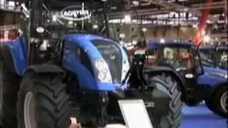tracteur Landini: Un relevage électronique pour le Power Mondial (sima 2009) tracteur et matériel