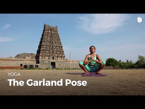 Learn the Garland Pose Malasana | Yoga