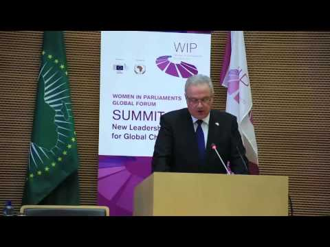 Neven Mimica, EU Commissioner for International Cooperation and Development, at the WIP Summit 2015