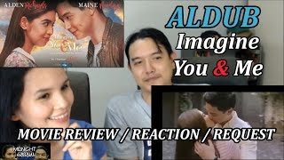 Midnight Sabaw Ep 17 Imagine You and Me 2016 Aldub Movie Reaction Review Requested Video