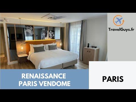 Renaissance Paris Vendôme - Parisian Corner Suite