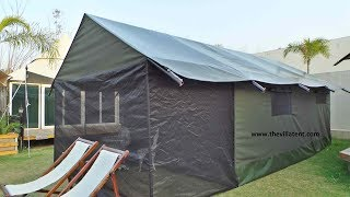 African Safari Resort Tent Manufacturers | African Jungle Tents | Exclusive tents|