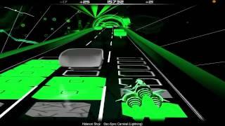 Audiosurf - F-Zero GX Soundtrack: Hidenori Shoji - Osc-Sync Carnival (Lightning)