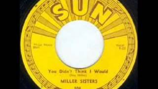 Miller Sisters - You Didn