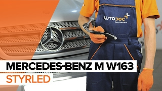 Montera Styrled MERCEDES-BENZ M-CLASS (W163): gratis video