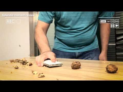 The hardness testing of cubot echo screen part 2:CUBOT echo VS walnut