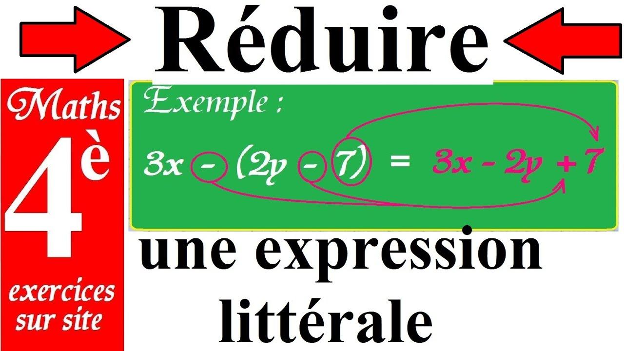 Cours de maths - 4ème