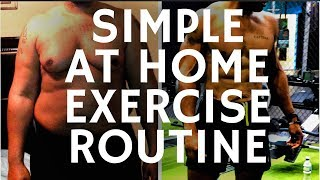 15 MINUTE HOME WORKOUT ROUTINE FOR MEN AND WOMEN (no equipment)