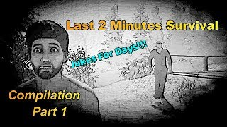 Friday the 13th: The Game| Last 2 Minutes Survival (Humiliating Jason)|Compilation Part 1 |