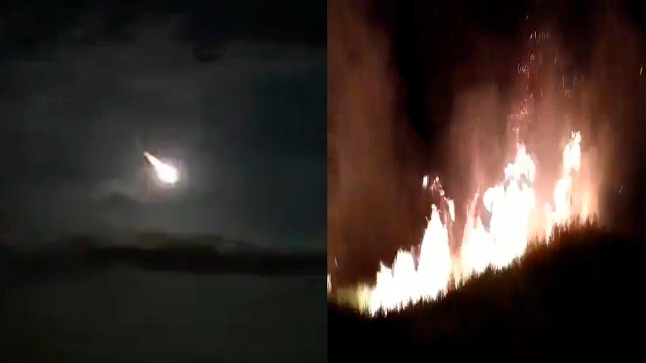 Meteorito En Venezuela: ASI FUE LA CAÍDA DE METEORITO EN VENEZUELA 9.2.19 PRIMERAS