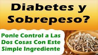 Como controlar la diabetes y como quemar grasa y bajar de peso rápi...
