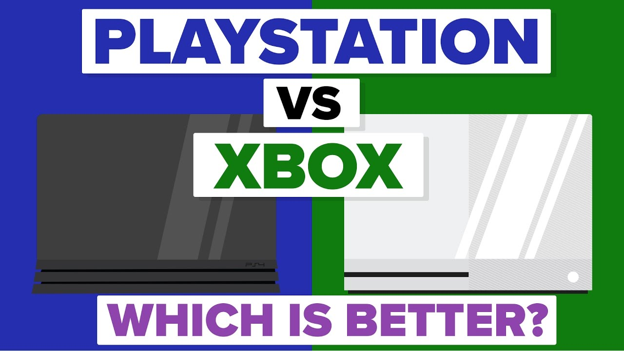 Sony Playstation vs Microsoft Xbox - Which Is Better - Video Game Console Comparison - YouTube