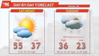 5-Day Weather Outlook: Saturday, February 21 through Wednesday, February 25, 2015
