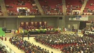 Over 500 MSU graduates accept diplomas at December commencement