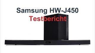 Samsung HW -J450 / -M450 / -F450 / -K450 im Test [deutsch]