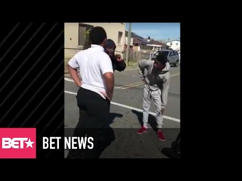 Atlantic City Man Is Praised For Breaking Up Fight Between Two Teens In A Viral Video - BET News