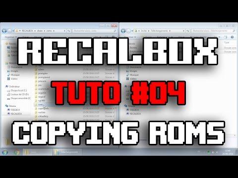 RECALBOX TUTO #04 - COPYING ROMS - YouTube