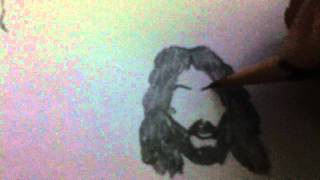 How Draw Jesus Christ Easily
