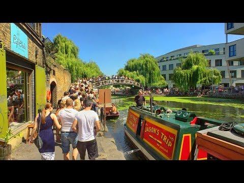 REGENT'S CANAL LONDON WALK incl. Little Venice, Camden Lock, King's Cross and Paddington Basin