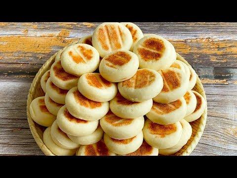 今天我做了山药小饼,一锅烙23个,健脾养胃松软又香甜,超好吃 【三丰美食】