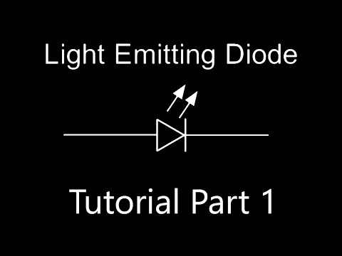 Electronics Tutorials For Noobs - How to power an LED properly [current limiting resistor] #0029