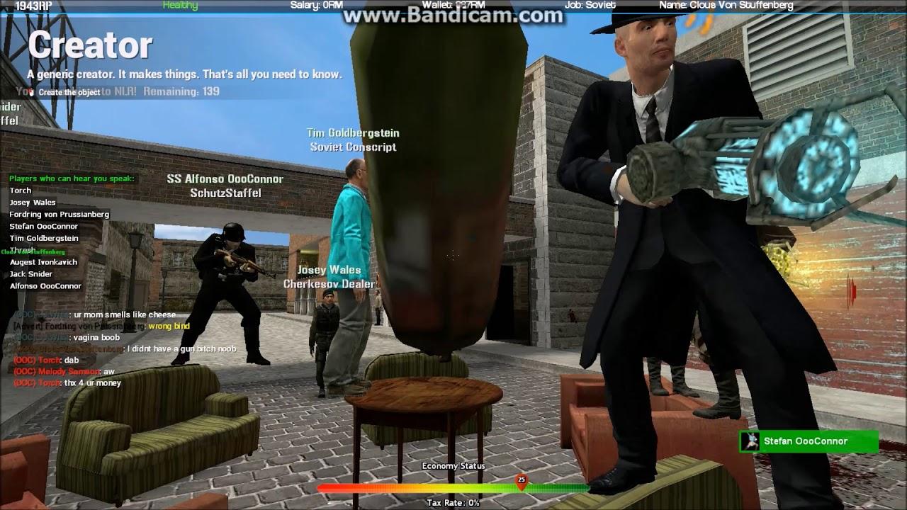Garrys Mod 1943 RP: Thresh The Badmin