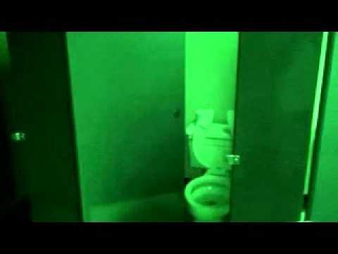 Видео приведения в туалете