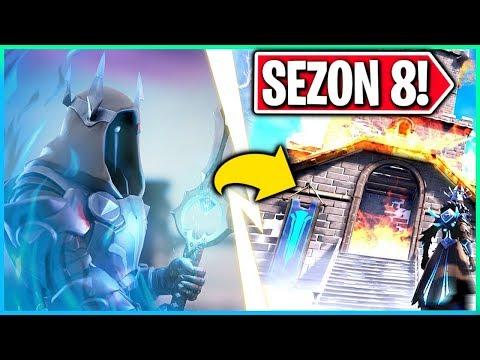 SEZON 8 W FORTNITE! CO PLANUJE LODOWY KRÓL? (Fortnite Battle Royale)