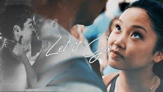 lara jean & peter   let it go