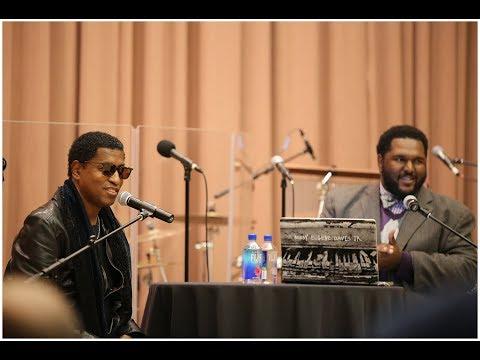 "Legendary music producer Kenneth ""Babyface"" Edmonds visits IU"