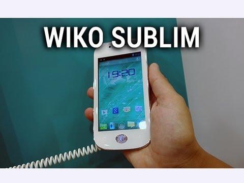 Wiko Sublim, prise en main - par Test-Mobile.fr