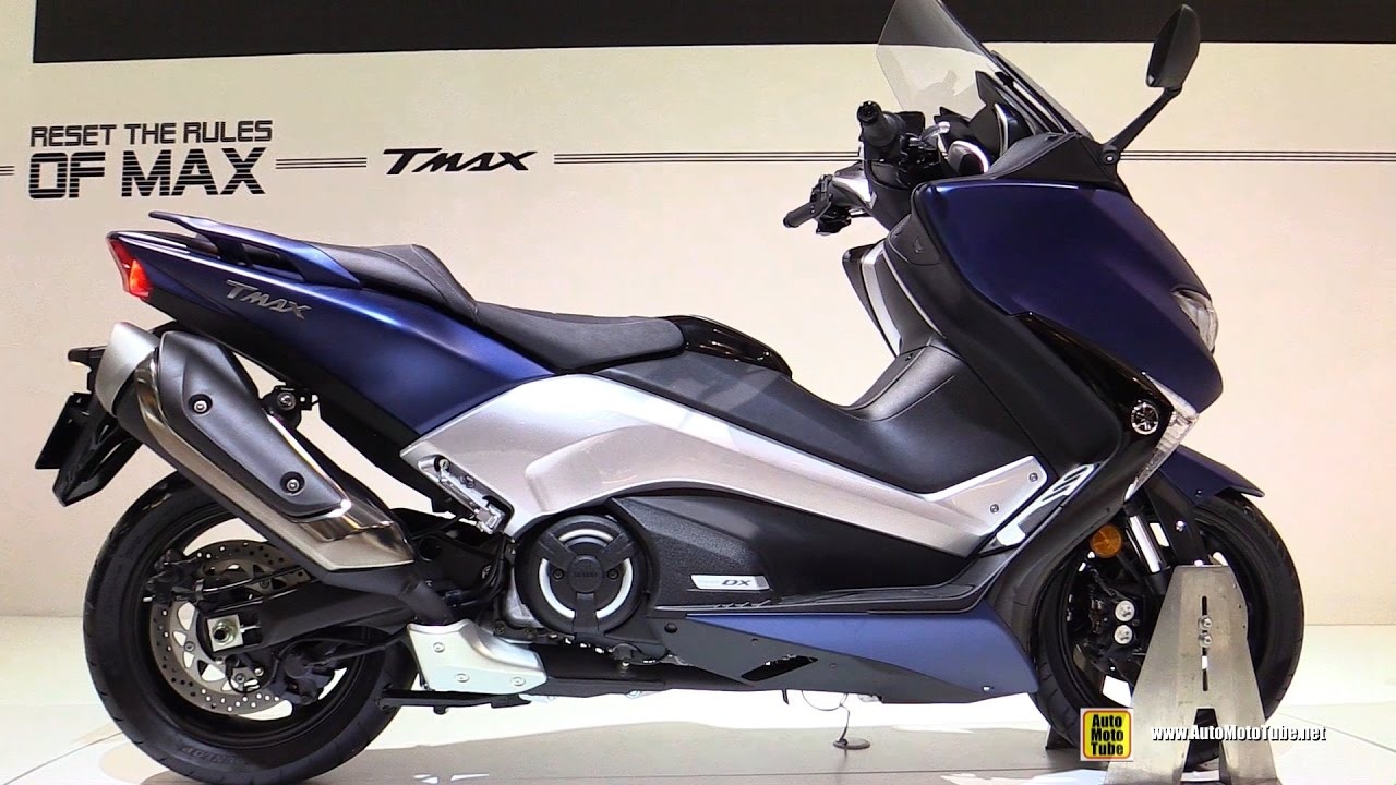 2017 yamaha tmax dx walkaround debut at 2016 eicma milan youtube. Black Bedroom Furniture Sets. Home Design Ideas