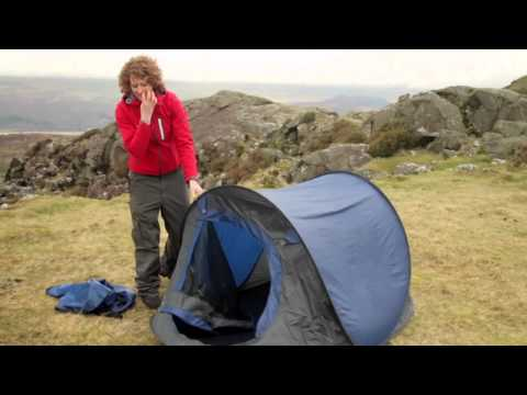 the best attitude 43f95 ba7cc How to Fold Up a Pop Up Tent - YouTube