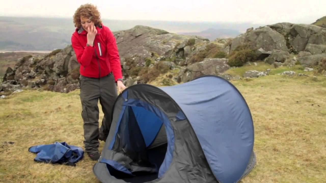 & How to Fold Up a Pop Up Tent - YouTube