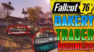 Bakery in Fallout 76! Fallout 76 CAMP Building