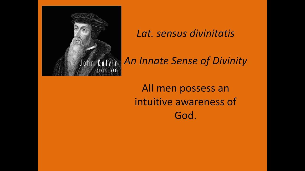 maxresdefault - Sensus divinitatis  - Bible Study