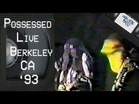 POSSESSED Live in Berkeley CA May 21 1993 FULL CONCERT