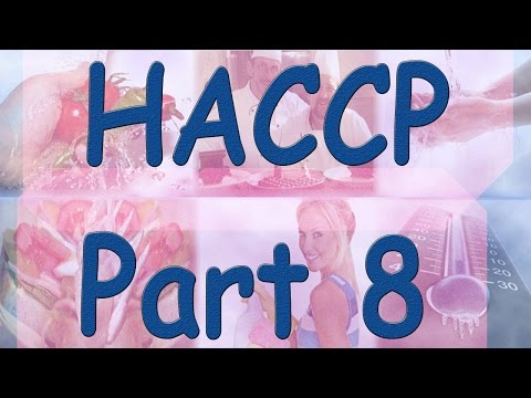 HACCP - Hazard Analysis Critical Control Points - Part 8 - Control Measures