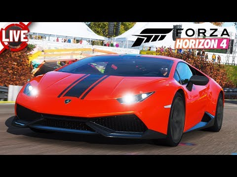 FORZA HORIZON 4 - Multiplayer mit der Racing Crew - Forza Horizon 4 Livestream