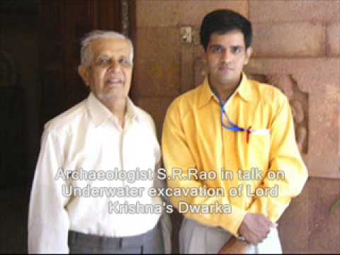 Archaeologist SR Rao speaks on Underwater excavation of Lord Krishna's Dwarka