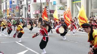 2015-07-25 新宿エイサーまつり 昇龍祭太鼓 伊勢丹前 曲目 かりゆしの夜...